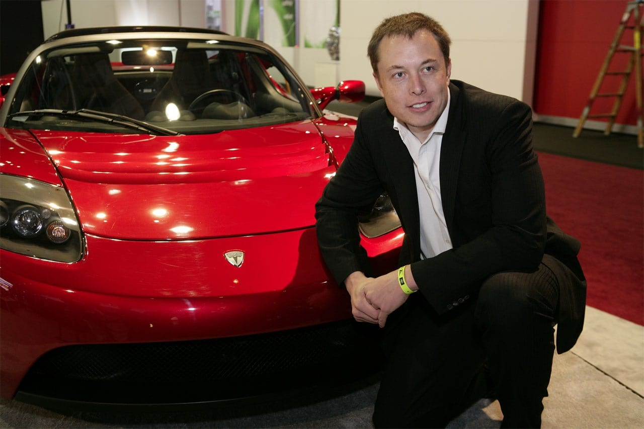 Elon Musk launching Tesla Roadster in giant SpaceX rocket's first test