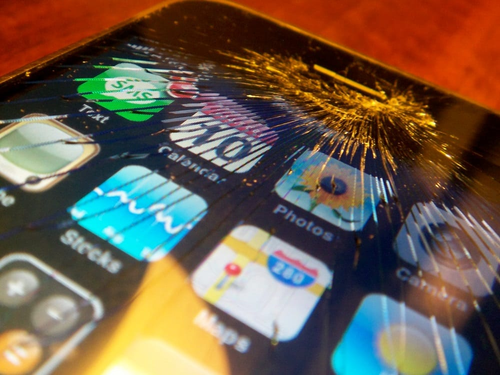 New polymer could fix phone screens by just applying pressure