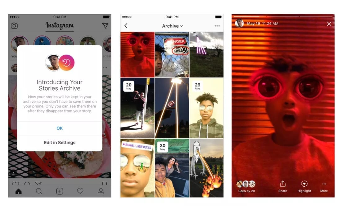 Instagram finally lets you save Stories so people can enjoy them forever