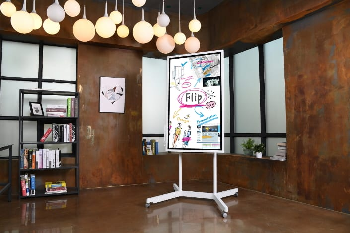 Samsung has created a giant digital whiteboard