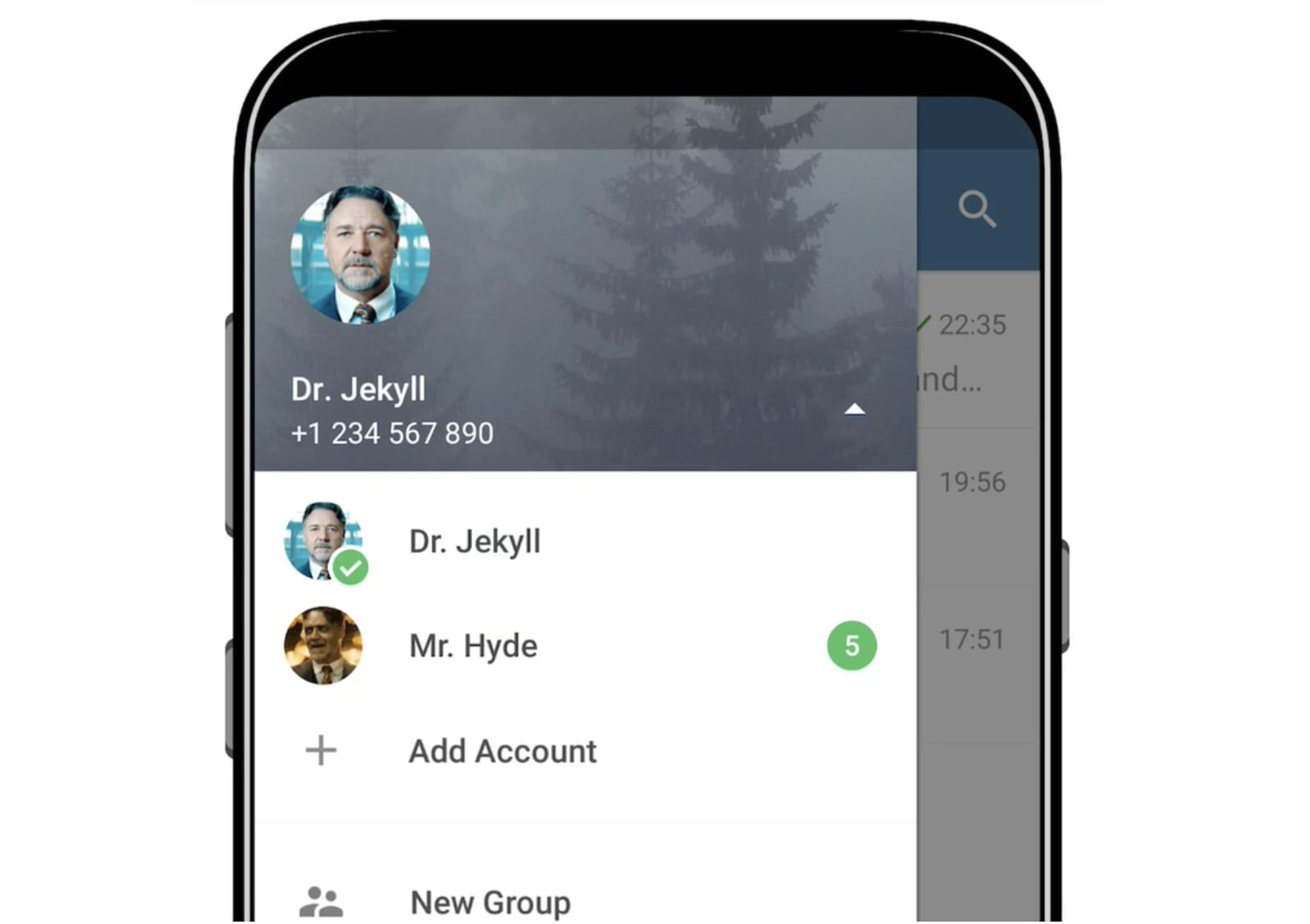 Telegram 4.7 adds multiple accounts and quick replies on Android