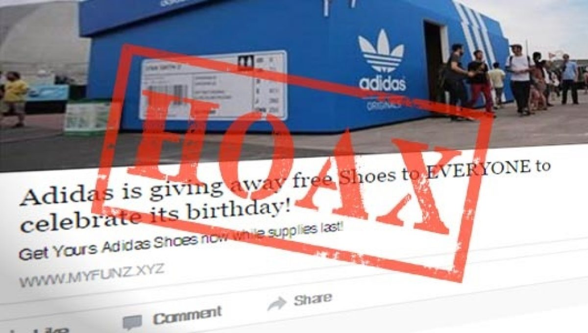 WhatsApp Scam: Adidas is not offering