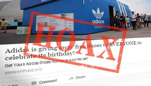 WhatsApp Scam: Adidas is not offering Free Shoes – RS-NEWS