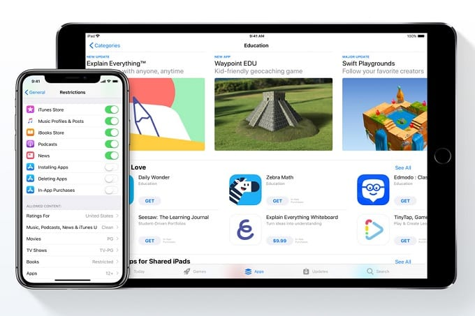 Apple debuts new page to help parents with screen-time concerns