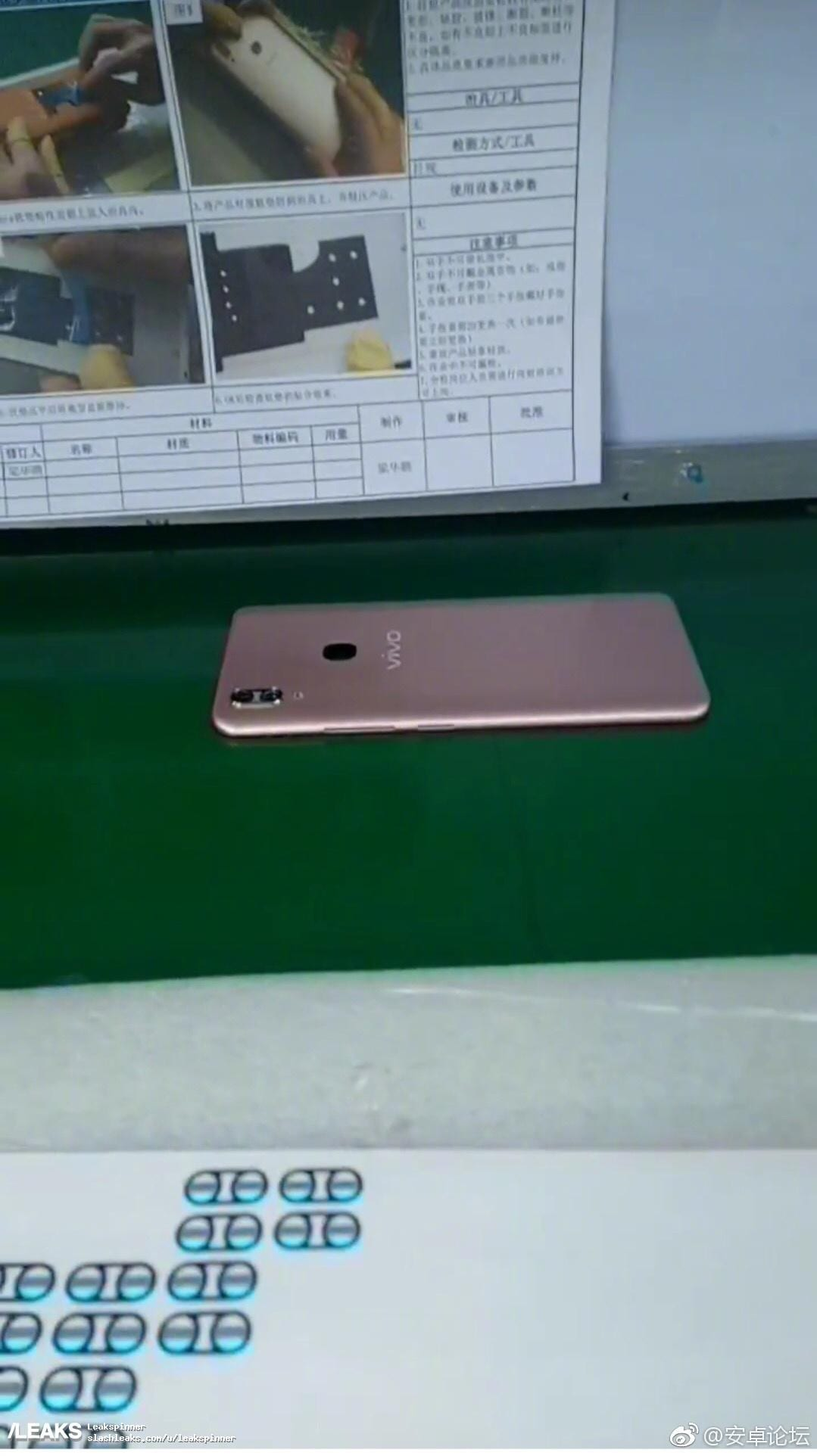 Vivo V9 leaked in live images with a notch design – RS-NEWS