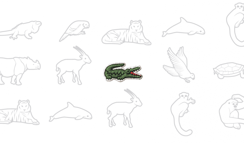 Lacoste Changes Crocodile Logo with Icons of Endangered Species