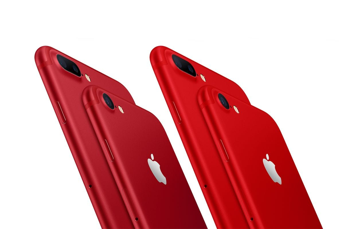 Apple releases a red iPhone 8