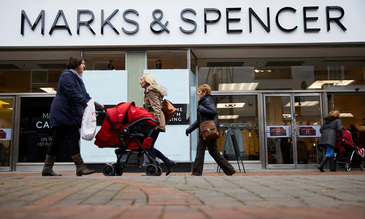 Marks & Spencer sees profits before tax decline 5.4 percent for FY18