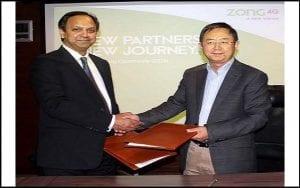 Zong 4G and Daewoo Express