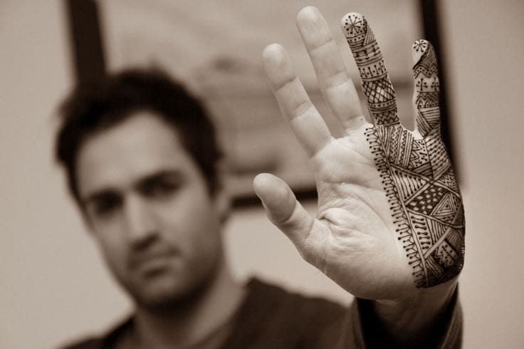 Mehndi On Men Is Becoming A New Trend In Pakistan Rs News