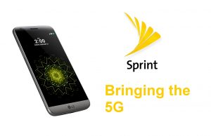 LG 5G smartphone