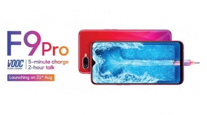 Oppo F9 launch date