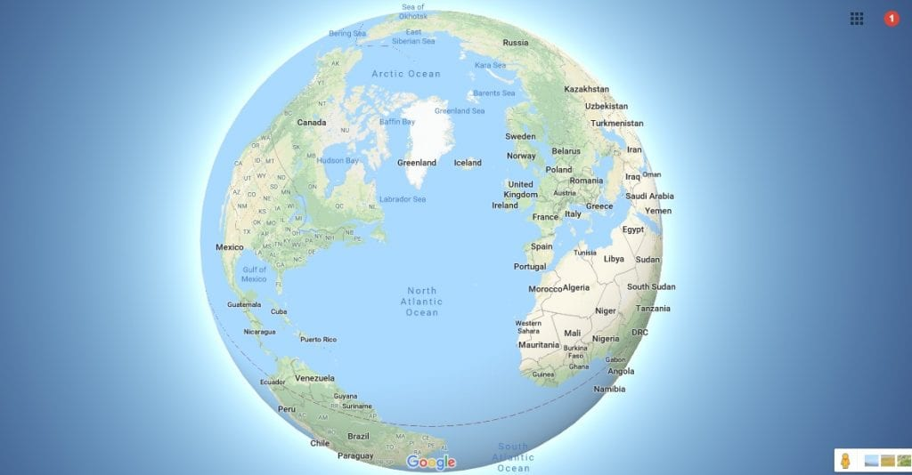 google maps 3d earth view