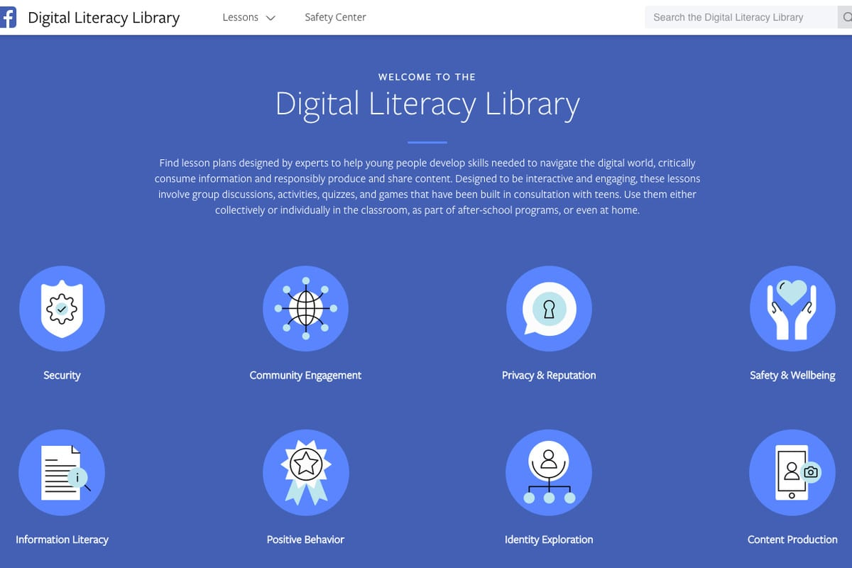 digital literacy library