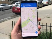 Google tracks location