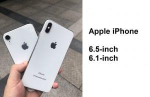 apple iphone X plus 2018