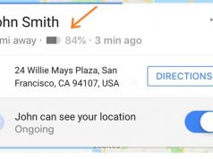 Google maps introduces location sharing