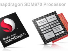 new snapdragon 670 SoC