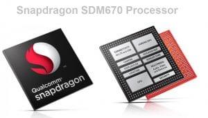 new snapdragon 670 SoC