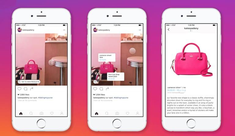 Instagram shopping app