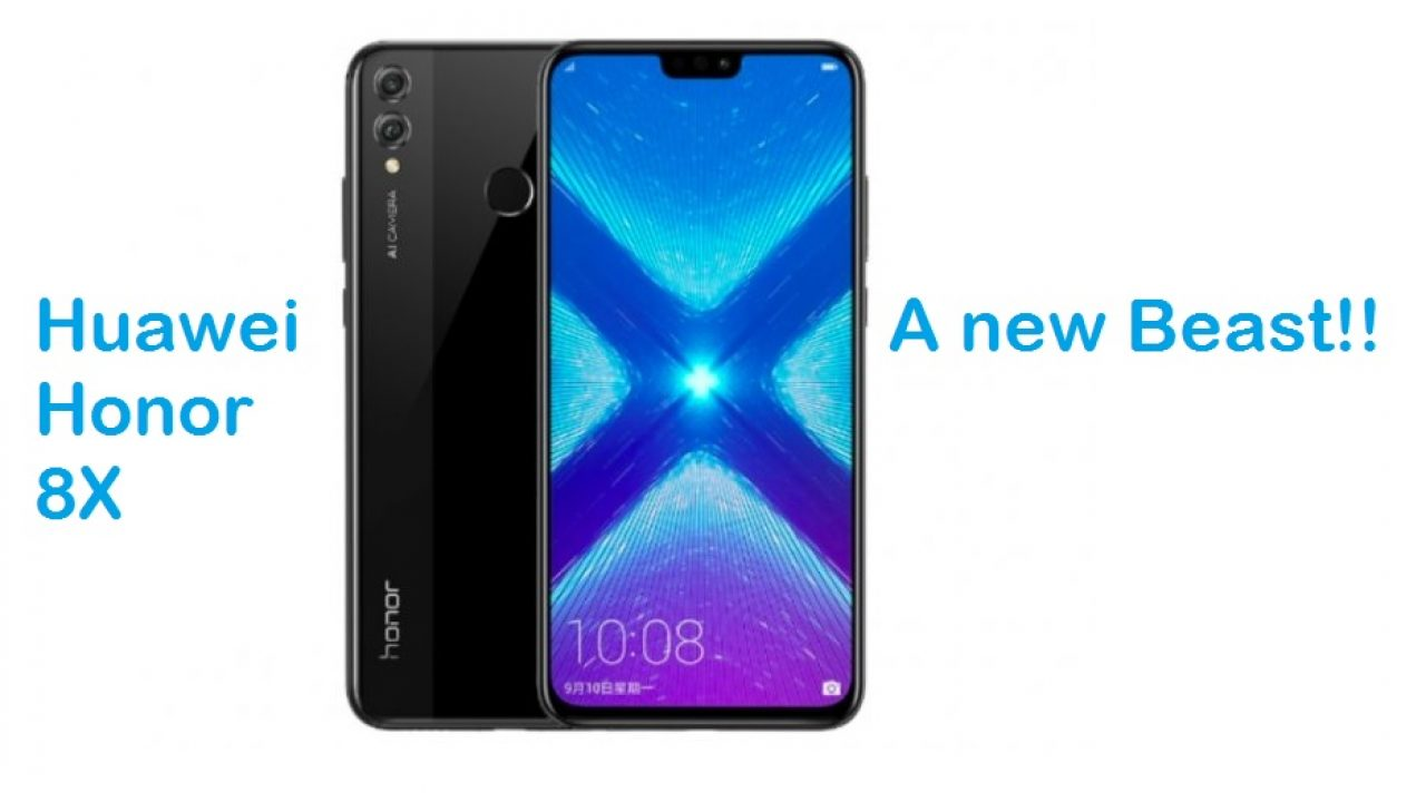 Huawei Honor 8X price in Pakistan and Specifications – RS-NEWS