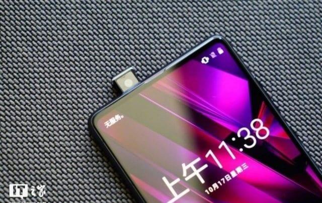 Xiaomi popup camera