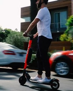 first electric scooters