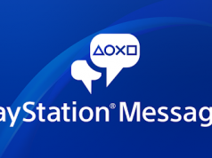 PlayStation Messages app