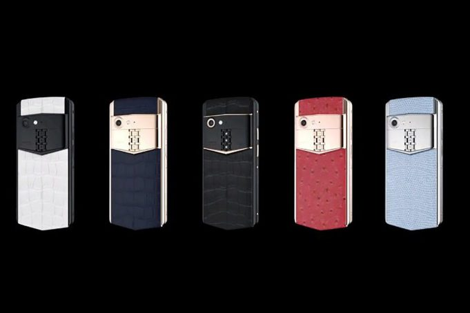 Aster P luxury cell phone