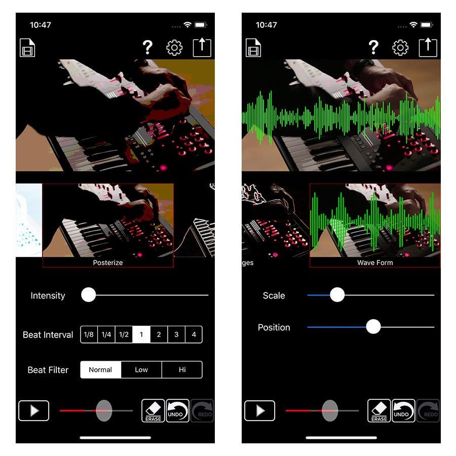 Beat sync maker