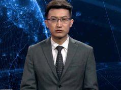 AI robot newscaster