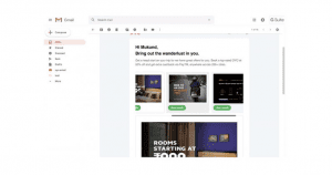 Gmail Carousel