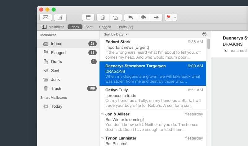 Apple Mail vulnerability