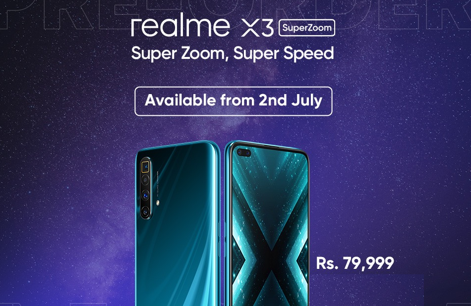 Realme Flagship Device Realme X3 Superzoom Launches In Pakistan