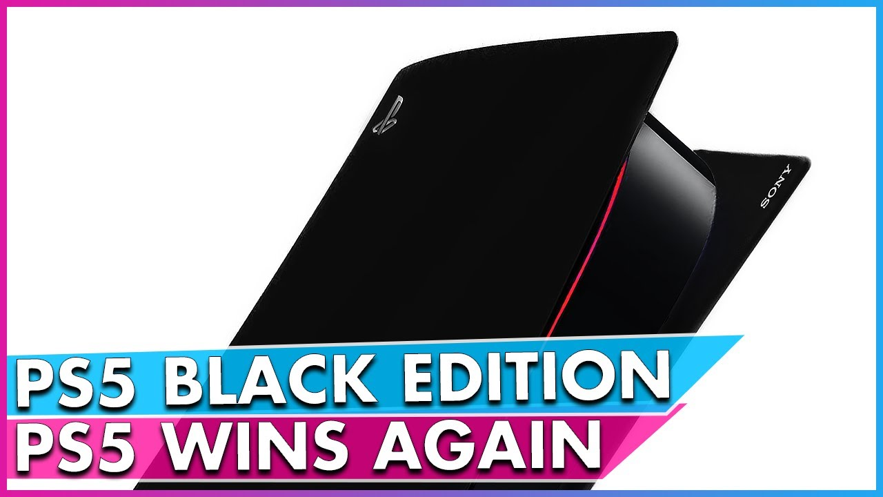 Playstation Black Edition Comes With Red Lighting Research Snipers