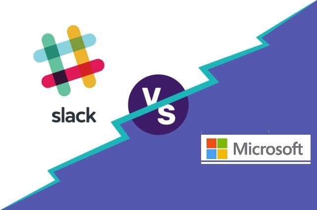 Slack Vs Microsoft