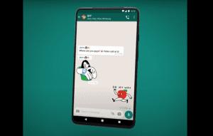 WhatsApp animated stickers