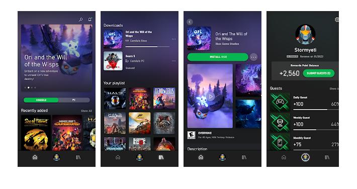 Xbox GamePass app