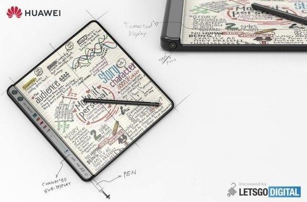 Huawei Mate X2 Design