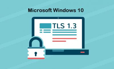 Windows 10 TLS 1.3