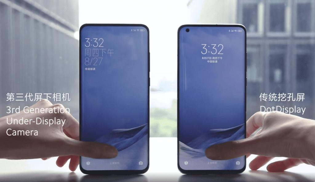 Xiaomi Under Display