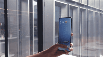 Xiaomi under screen camera