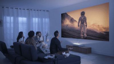 Samsung 4K Projector
