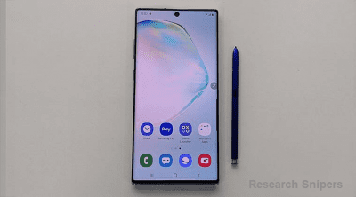 Galaxy Note 10 security