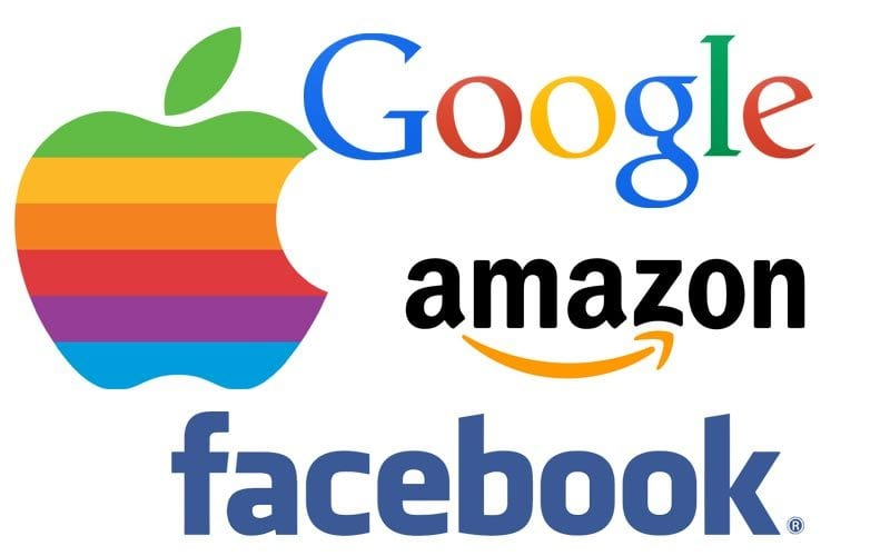Google Facebook Apple Amazon