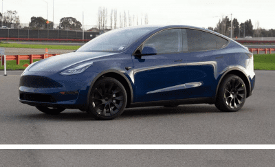 Tesla Y Model 7 seater