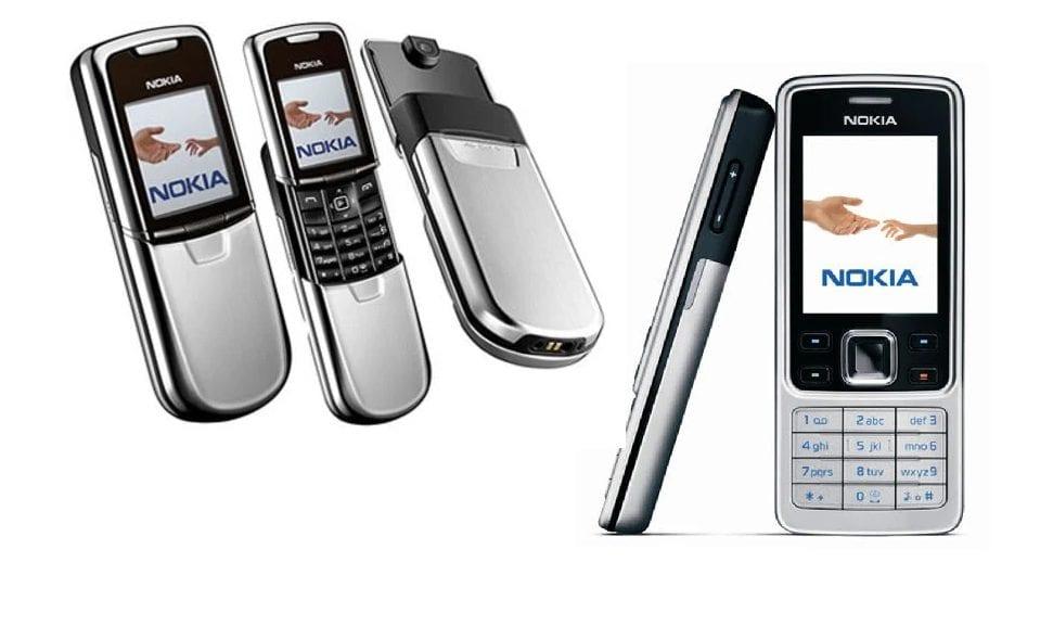 Nokia 6300 Nokia 8000