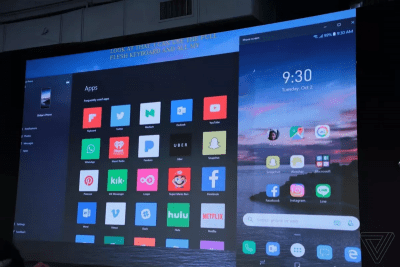Android Apps Windows 10