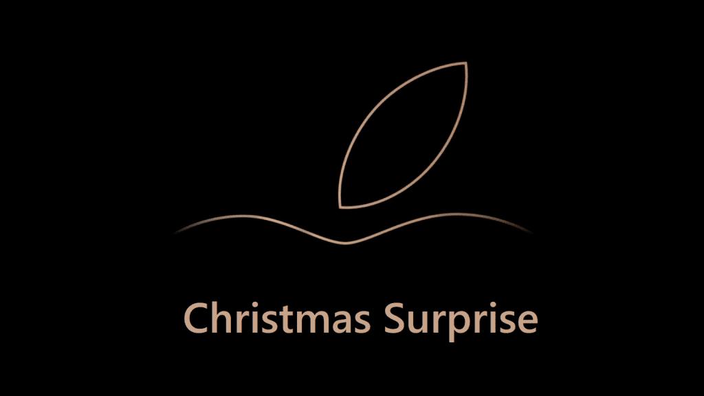 Apple Christmas Surprise