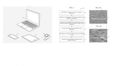 Apple black color patent